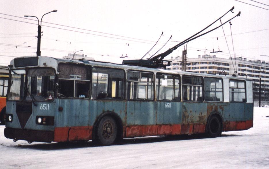 Тролза-526500 3506, троллейбус, санкт-петербург